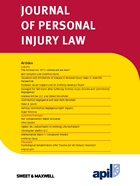 Journal of Personal Injury Law