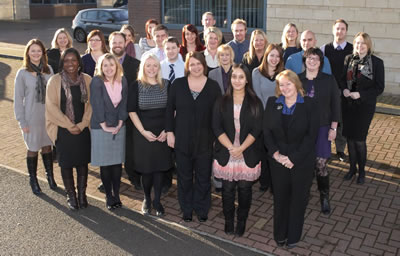Injury lawyers staff