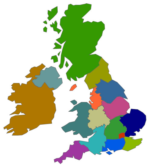 APIL UK group map
