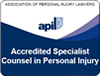 Counsel in personal injury quality mark