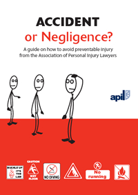 Accident or negligence booklet